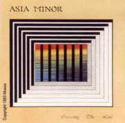 Album cover - Asia Minor - Crossing The Line