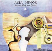 Album cover - Asia Minor - Between Flesh and Divine